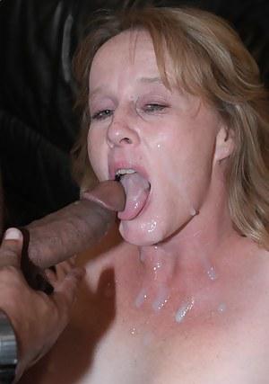 Best Cum in MILF Mouth Porn Pics